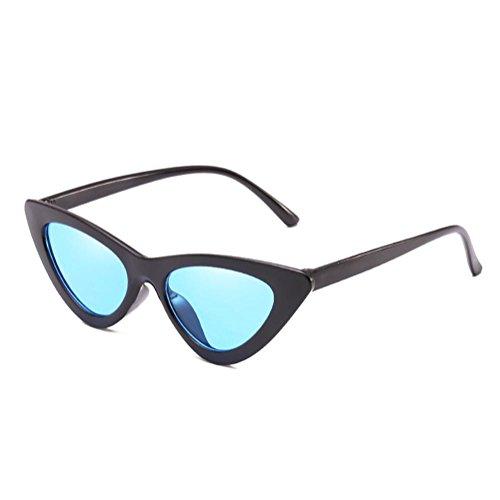 sol Small de Eye sol Gafas de New de Triangle Juleya Cat Box transparentes Gafas Gafas sol C5 w8FqzS