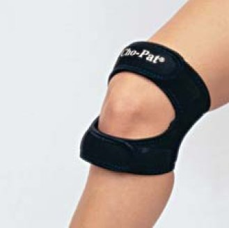 Sammons Preston Knee Strap Large Hook and Loop Closure 16 to 18 Inch Circumference Left or Right Knee