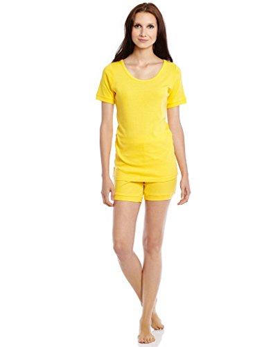 Yellow Womens Pajamas - 5