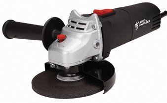 "Drillmaster 120 Volt Electric 4-1/2"" Angle Grinder Metal Cutter"