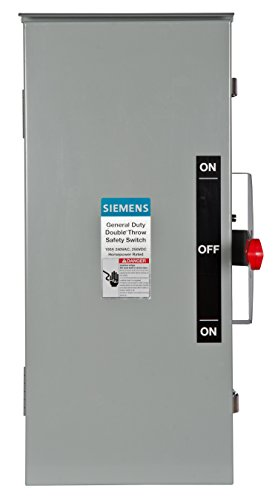 Siemens DTGNF223R 100-Amp, 2 Pole, 240-volt, 2W Non-Fused...