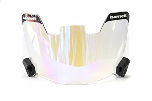 Barnett Football Eyeshield/Visor, revo Blue, Eyes-Shield