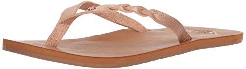 Roxy Water (Roxy Women's Liza Sandal Flip-Flop, Rosewater, 7 M US)