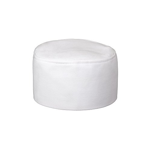 Perfect White Hat Box (Fame Adult's Bakers Pill Box Hat -White-O/S)