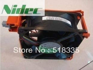 For Nidec TA350DC M35556-35 DC 12V 1A Server Cooling Fan For PowerEdge 1900 2900 C915 Square Fan 4-wire