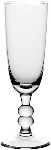 Bohemia Cristal 093 006 048 champagneglazen ca 180 ml van kalk natronglas set van 6 Cottage