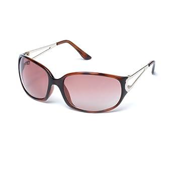 d793477873d9 MUK Women's Cilla Sunglasses Tortoiseshell Frame with Brown Lens MUK077617  One Size