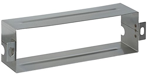 National Hardware N264-960 V1911S Mail Slot Sleeves - Stainless Steel in Stainless Steel, 1-1/2