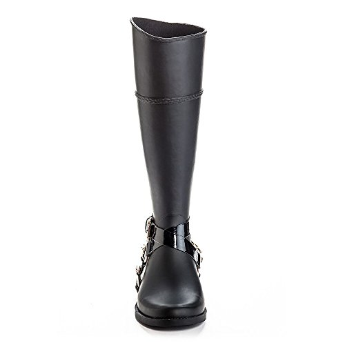Henry Ferrera Womens Bond 300 Chains & Buckle Tall Rubber Rain Boots
