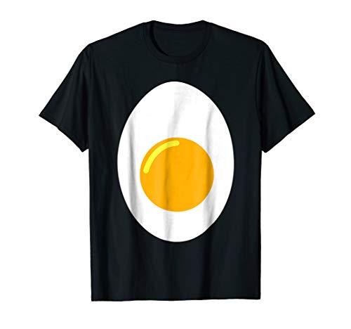 Deviled Egg Costume Shirt Add Devil Horns and Tail Halloween