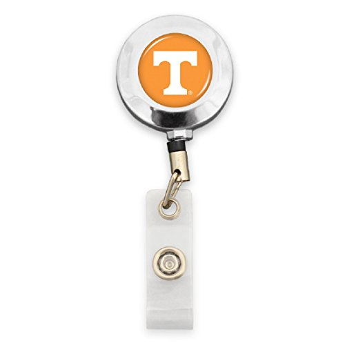 FTH Tennessee Vols Badge Reel with Alligator Clip by FTH