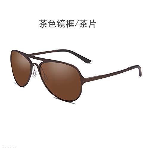 de Brown Sport nbsp;Plage Lunettes Mjia Soleil Homme Lunettes sunglasses frame pêche Aluminium Glasses de de de Lunettes pour en magnésium nbsp;équitation Mode Soleil polarisées qHqBpSOw