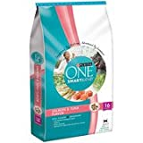 Purina One Cat Dry SmartBlend Adult Salmon and Tuna Flavor Cat Food, 16 lbs(Pack of 2)