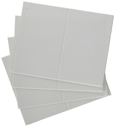 QUICKUTZ We R Memory Keepers Letterpress Paper, Mini-Size, Fold-Style, 25-Pack, White