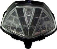 Price comparison product image 11-13 Honda CBR250R 15-18 CBR300R 15-18 CB300F Smoked Integrated LED Tail Light - 905-3119D