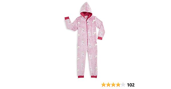 Peppa Pig Pijamas Enteros Rosa Diseño Peppa Unicornio Que ...