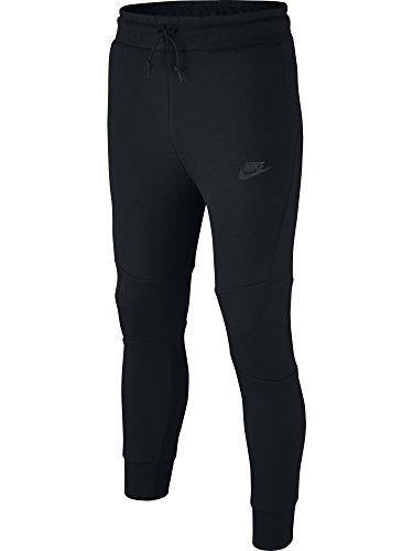 Nike Boy's Sportswear Tech fleece Pants Black/Black Small