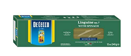 De Cecco Pasta Linguini with Spinach Pasta, 12 oz