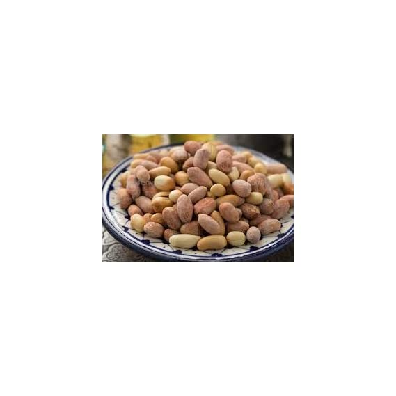 Sakr Products Roasted Salted Peanuts Seeds (Bharuch Gujrat Special) Mungfali Dana Namkeen Spicy Chakna Shipping Free (400GMS)