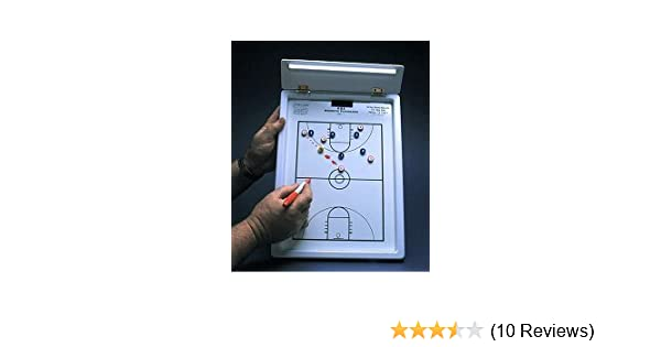 Single Play Coaches' & Referees' Gear Marker Boards KBA Football Coaches 12 x 18 Playmaker Clipboard