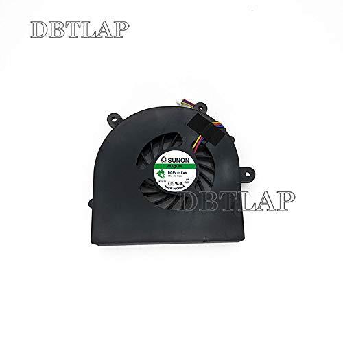 DBTLAP CPU K/ühlung L/üfter f/ür Clevo P150 NP8150 NP8130 NP8170 NP9150 P150EM P150HM P170HM P170EM P150SM P170SM Series 6-23-AX510-012 BS6005HS-U0D 131111