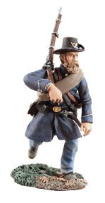 - W. Britain 31141 Union Infantry Iron Brigade Advancing No.3