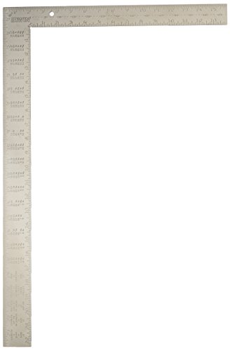 IRWIN Tools Framing Square, Steel, 16-Inch by 24-Inch (1794449) by Irwin Tools