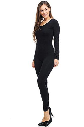 768c761f57 World of Leggings Women s Premium Basic Full Nylon Spandex Jumpsuit - Shop  6 Colors