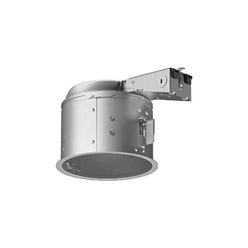 HALO E27RICAT E26 Series Recessed Lighting Shallow Remodel Insulation Contact Rated Air-Tite Housing, 6