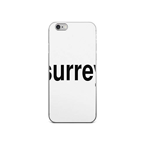 iPhone 6 Case iPhone 6s Case Clear Anti-Scratch Shock Absorption Surrey Cover Phone Cases for iPhone 6/iPhone 6s -