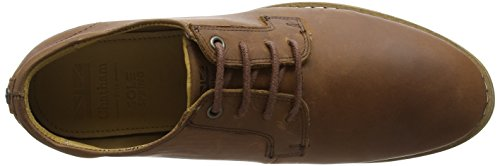 Oxford Stringate Scarpe Uomo Chatham Tan Nevis Brown HqftatWvR