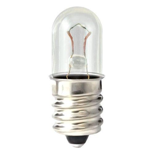 Eiko Base Mini (Eiko - 46 Mini Indicator Lamp - 6.3 Volt - 0.25 Amp - T3.25 Bulb - Miniature Screw Base - 10 Pack)