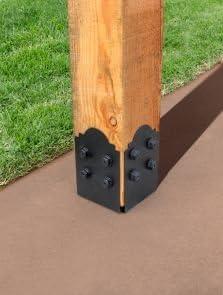 Simpson APB88DSP Strong-Tie - Base para postes (8 x 8 cm, con platos laterales decorativos): Amazon.es: Bricolaje y herramientas