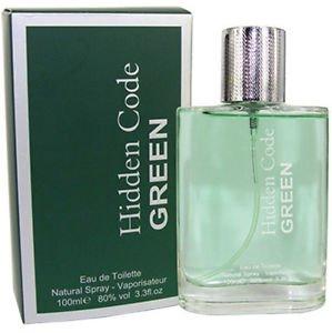 Hidden Code Green 8076 - Men Gent Man Perfume Fragrance Eau De Toilette  Spray 100ml Pour 8f5d835f5d