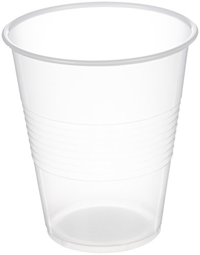 AmazonBasics Plastic Cups, 7 oz, Clear, 1000-Count