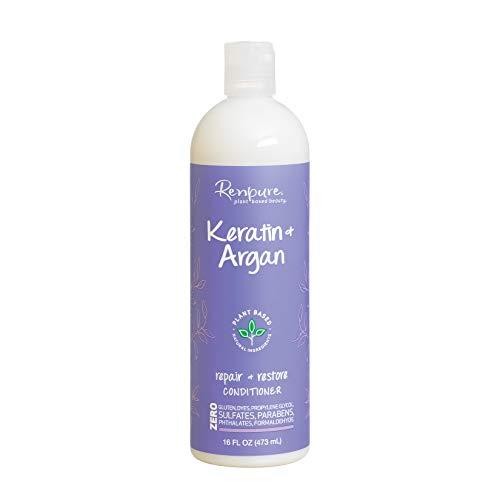 Renpure Keratin & Argan Conditioner, 16 Fluid Ounce