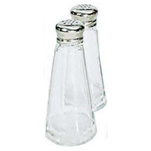 - Adcraft 3 Oz. Glass Salt And Pepper Shaker - Dozen
