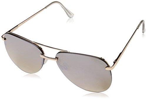 Quay Women's The Playa Sunglasses, Gold/Brown, One ()
