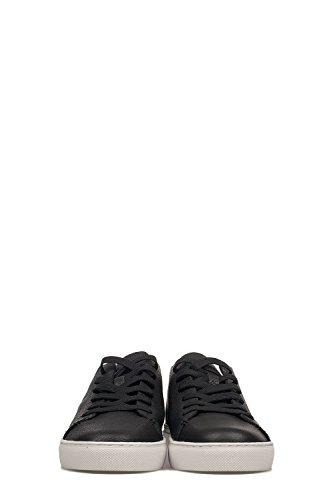 Misdaad Londen Mensen 11276ks120 Zwart Lederen Sneakers