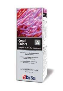 Red Sea Reef Colors A Supplement (Iodine/Halogens) - 500ml (Reef Lab Sea Red)