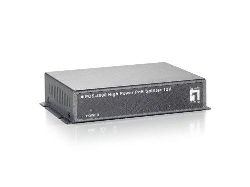 LevelOne POS-4000 High Power PoE Splitter (12V) - Indoor