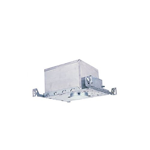 4'' IC Air-Tight Low Voltage Housing New Construction | Adjustable From 12'' To 24'' | 50W, R/PAR 16/20 Lamps | Prevents Air Flow AC and Heated Spaces | UL Listed For Damp Location