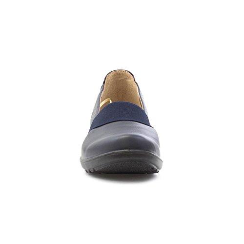 Blue Cushion Womens Cushion on Shoe Slip Casual Navy Walk Walk pwznBTxq77