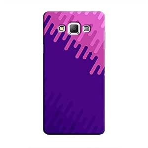 Cover It Up - Purple Pink Galaxy A7Hard Case