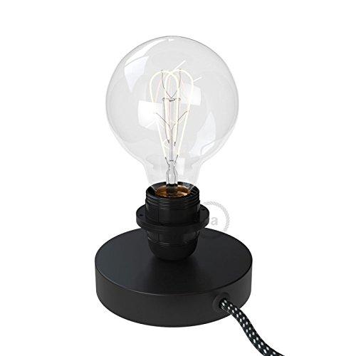 creative cables Posaluce, la lámpara de Mesa para Pantallas en ...