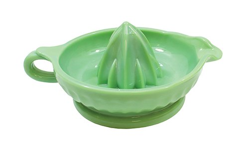 Jadeite style green juicer with handle