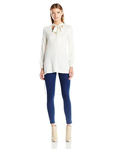 Ella Moss Women's Stretch Stella Long Sleeve Tunic, Natural, S