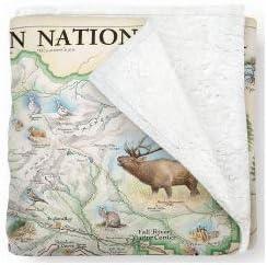 Rocky Mountain National Parks Fleece Blanket