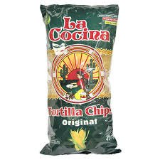 La Cocina Original Corn Tortilla Chips - 400g {Imported From Canada}