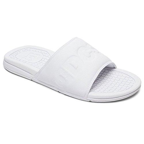 Dc Heren Bolsa Se Slide Sandaal Wit / Wit